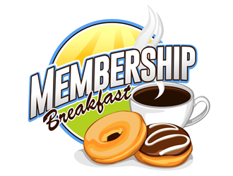 Membership Breakfast logo design