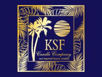 KSF Candle Company logo design