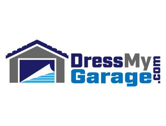 DressMyGarage.com logo design