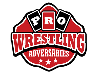 Pro Wrestling Adversaries logo design