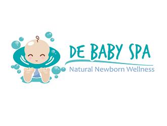 De Baby Spa  -Natural Newborn Wellness- logo design