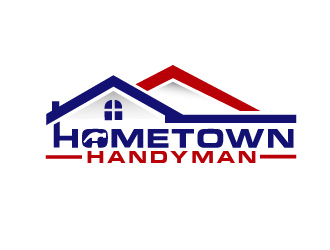 Hometown Handyman logo design
