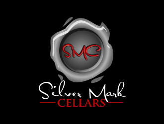 Silver Mark Cellars logo design