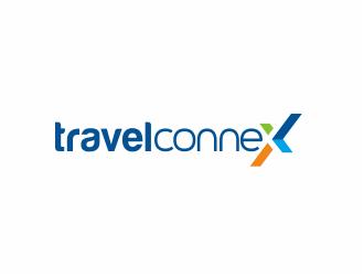 TravelconneX logo design
