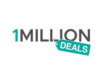 1 MILLION DEALS logo design
