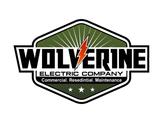 Wolverine Electric Company logo design