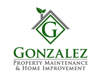 $148 Gonzalez Property Maintenance U0026 Home Improvement Logo Design