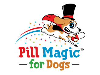 Pill Magic for Dogs logo design
