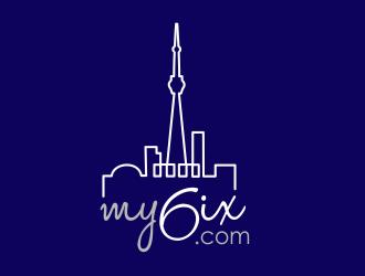 my6ix.com logo design