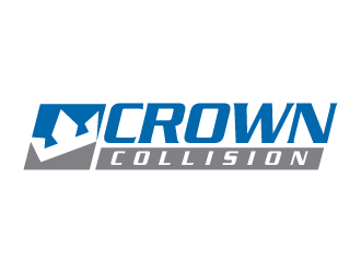 Crown Collision logo design