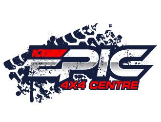 Epic 4x4 Centre logo design