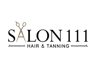 Salon 111 logo design
