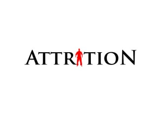 Attrition logo design