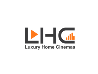 LHC / Luxury Home Cinemas logo design
