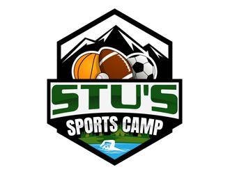 Stus Sports Camp logo design