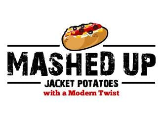 Mashed up logo design