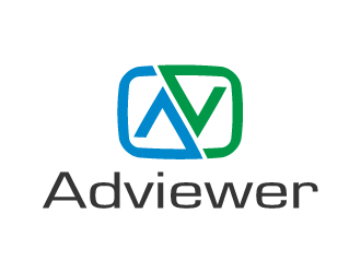 Adviewer logo design