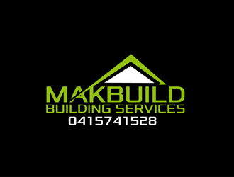 Makbuild Building Services logo design