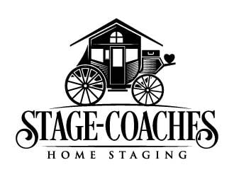 STAGE-COACHES logo design