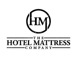 The Hotel Mattress Company logo design