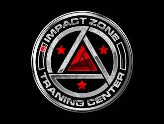 Impact Zone Training Center logo design