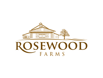 Rosewood Farm logo design