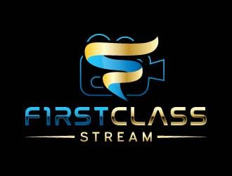 First Class Stream logo design
