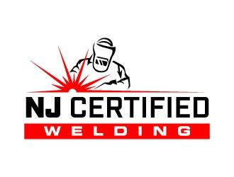 NJ Certified Welding logo design