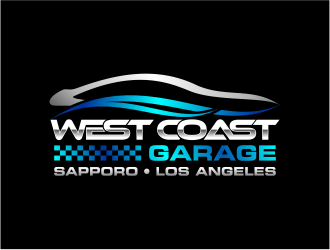 West Coast Garage  logo design