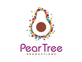 Pear Tree Productions  logo design