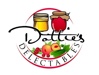 Dotties Delectables  logo design