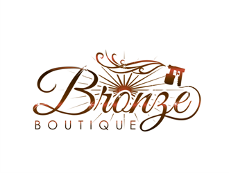 Bronze Boutique logo design