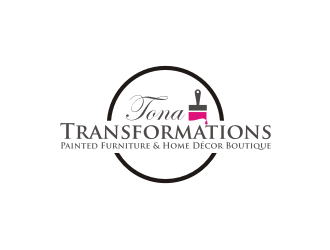 Tona Transformations logo design