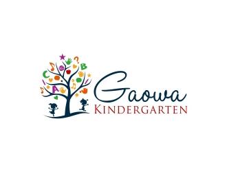 Gaowa Kindergarten logo design