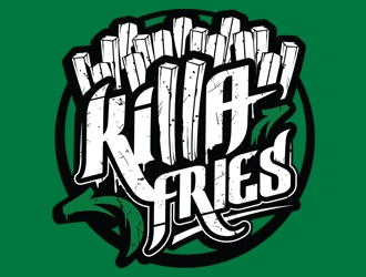 Killa Fries logo design