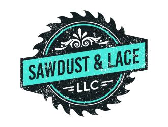 Sawdust & Lace LLC logo design