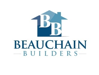 Beauchain Builders logo design