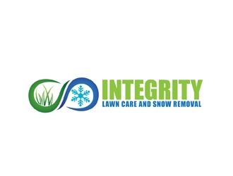 Integrity Lawn Care and Snow Removal logo design