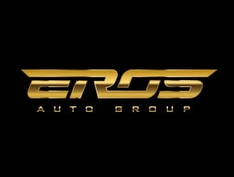 EROS AUTO GROUP logo design