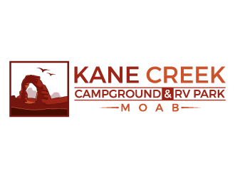 Kane Creek Campground & RV Park logo design