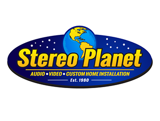 Stereo Planet logo design