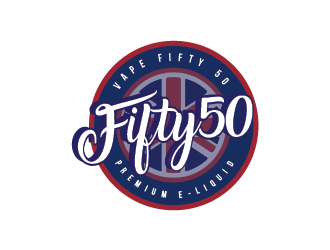 50 Fifty logo design