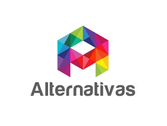 Alternativas  logo design