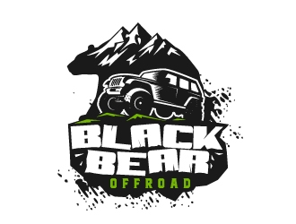 Black Bear Offroad logo design