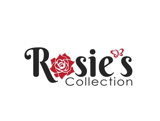 Rosies Collection logo design