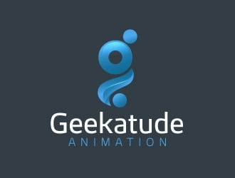 Geekatude Animation logo design