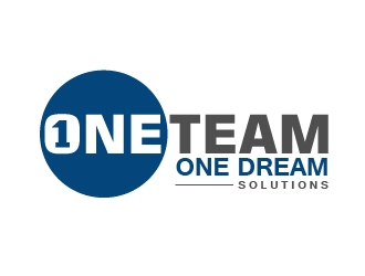 One Team One Dream Solutions logo design