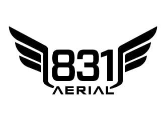 831 Aerial logo design