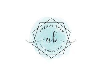 Avenue Bath logo design