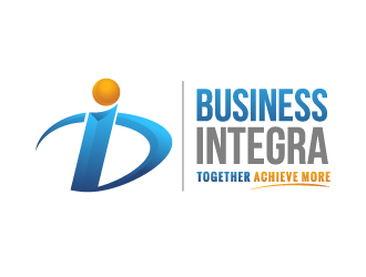 Business Integra logo design
